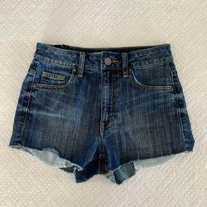 Talula/Aritzia denim shorts